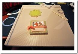 , Kartka składaczek (triangle tri-fold)