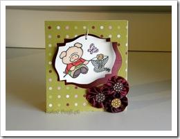 , Pomysł na kwiatki cz. III – tasiemkowe a'la różyczki