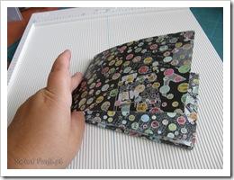 , Tips&Tricks – Mini album – skladaczek (meander book)