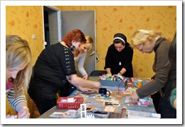 , Warsztaty z podstaw scrapbookingu – 16.10.2011