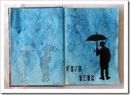 , Just rain–art żurnal