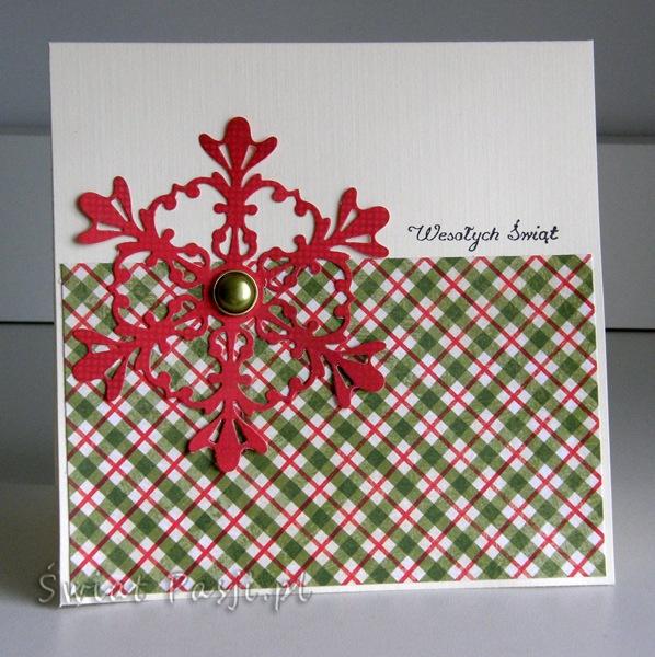 , Kartki świąteczne – szybkie i proste do wykonania cz.4
