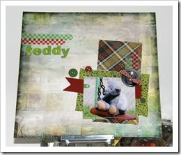 , Teddy bear – LO