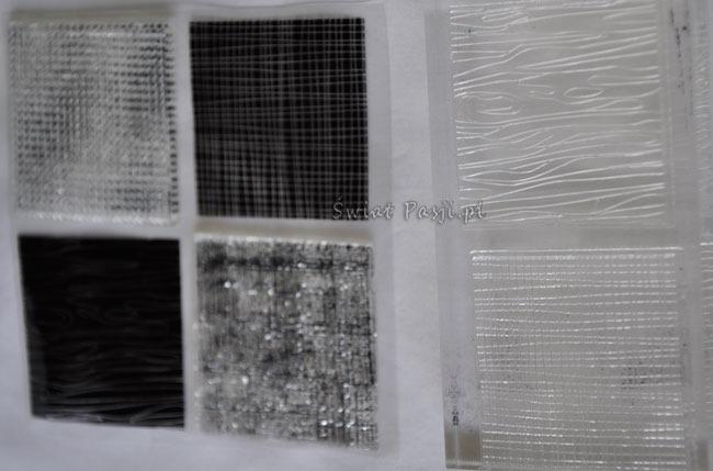 Stemple przeźroczyste, Stemple przezroczyste – clear stamps
