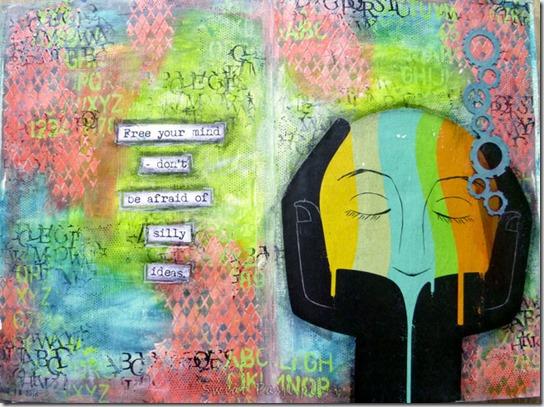 polub wewnętrznego krytyka, Art journal – polub wewnętrznego krytyka.