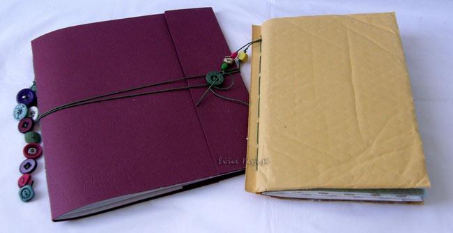 art journaling - handmade