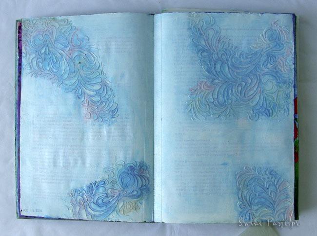 art journaling, Art journaling – post motywacyjny