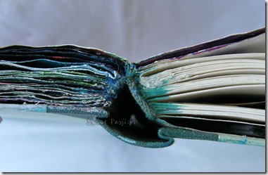 art journal, Przemiana – stara książka w art journal