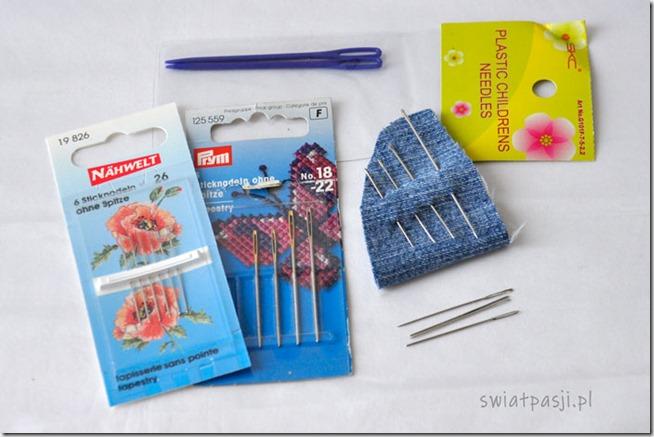 akcesoria i narzędzia, Akcesoria i narzędzia potrzebne do haftowania – moje TOP 6