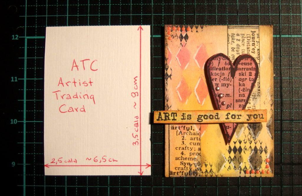 ATC, Artist Trading Cards czyli ATC