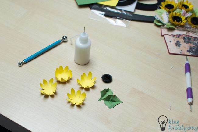 uformowane kwiatki