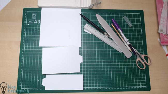 bendy card, Bendy Card – tutorial na zagiętą kartkę