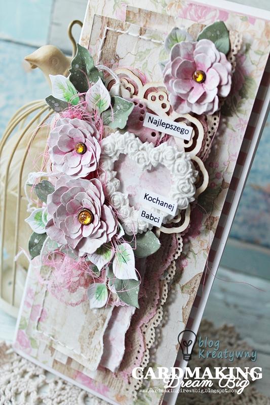 kartka z okazji Dnia Babci, Prosto z serca – kartka z okazji Dnia Babci