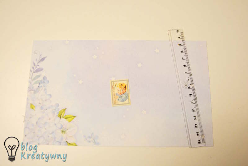 Trifold shutter card