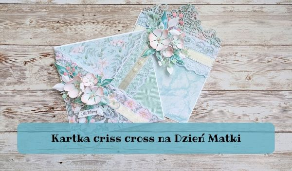 Kartka criss cross
